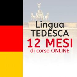 Corso di TEDESCO online 12 mesi