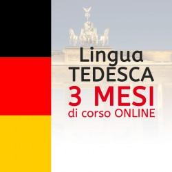 Corso di TEDESCO online 3 mesi