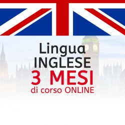 Corso di INGLESE online 3 mese
