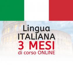 Corso di Italiano online 3 mesi