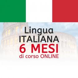 Corso di ITALIANO online 6 mesi