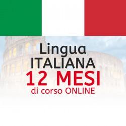 Corso di ITALIANO online 12 mesi