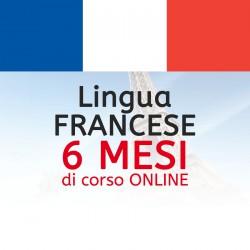 Corso di FRANCESE online 6 mesi