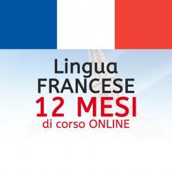 Corso di FRANCESE online 12 mesi