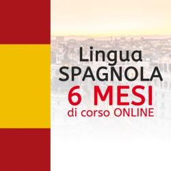 Corso di SPAGNOLO online 6 mesi