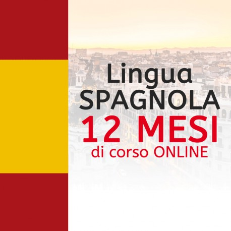 Corso di SPAGNOLO online 12 mesi