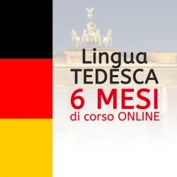 Corso di TEDESCO online 6 mesi