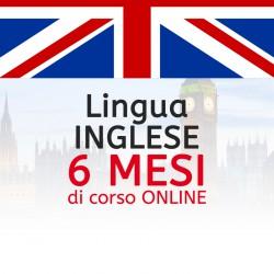 Corso di INGLESE online 6 mesi