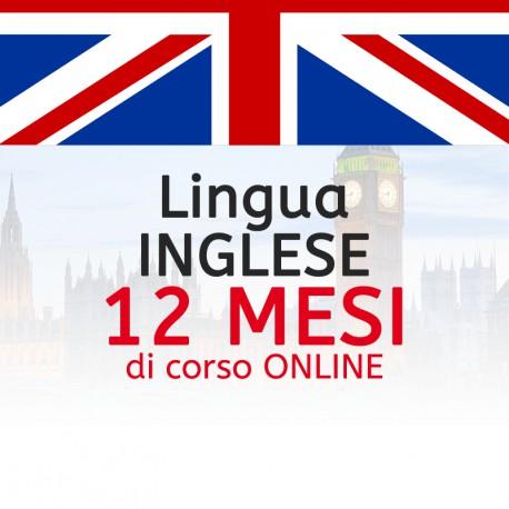 Corso di INGLESE online 12 mesi
