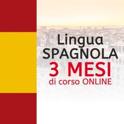 Corso di SPAGNOLO online 3 mesi