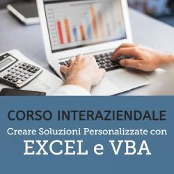 Creare soluzioni personalizzate con Excel e VBA